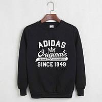 Весенняя черная толстовка Adidas originals
