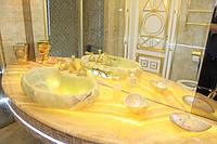 Столешницы в ванную комнату  с накладным умывальником под заказ