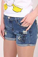 Джинсовые молодежные шорты