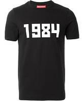 Футболка Гоша Рубчинский топ   1984 лого