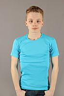 Футболка мужская голубая Centrix Размеры XL(50/52), фото 1