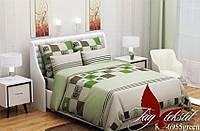 Постель для дома классика.Двуспальный комплект постельного белья.Ткань Ранфорс. Комплект постельного белья.