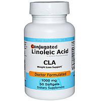 Advance Physician Formulas, Inc., CLA, конъюгированная линолевая кислота, 1000 мг, 50 капсул