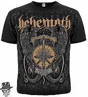 "Футболка Behemoth ""Angelus Satani ""(graphite t-shirt)"