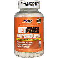 GAT, JetFUEL Superburn, 120 капсул с маслом