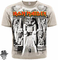 "Футболка Iron Maiden ""Powerslave"" (khaki t-shirt)"