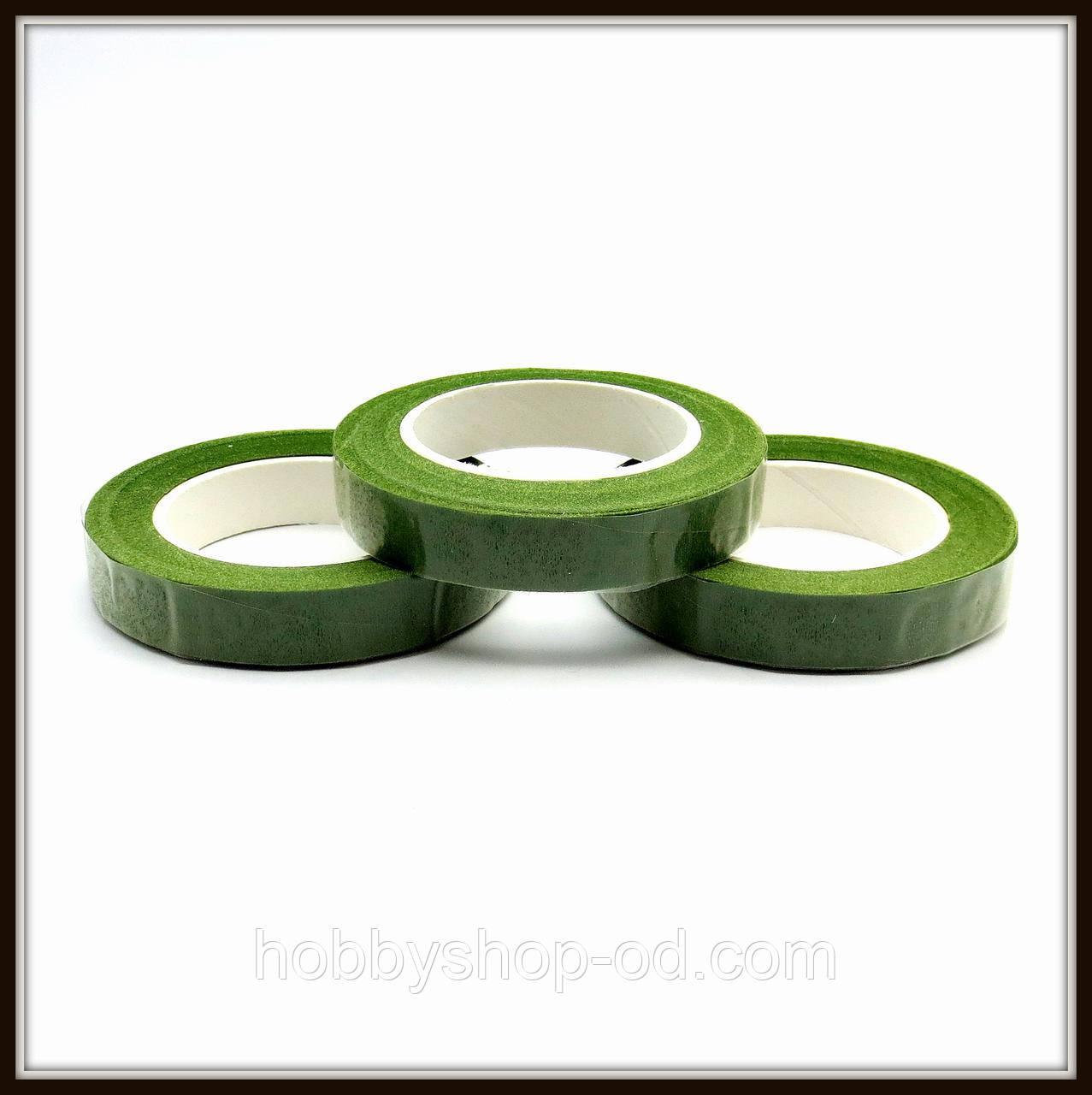 Лента флористическая светло-зеленая