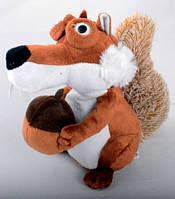 Интерактивная говорящая игрушка белка из мультфильма Ледниковый период (повторюха) №2117