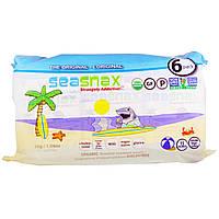 SeaSnax, Оригинальная закуска из морских водорослей, 6 штук в упаковке по 0,18 унций (5 г) каждая