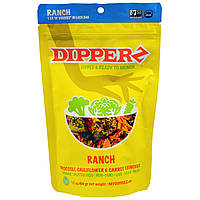 Sejoyia Foods, Dipperz, Broccoli, Cauliflower & Carrot Crunchies, Ranch, 1.5 oz (44 g)