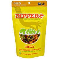 Sejoyia Foods, Dipperz, Broccoli, Cauliflower and Carrot Crunchies, Cheezy, 1.5 oz (44 g)