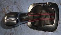 Рукоятка переключения АКПП чехол кожаVW Polo 1.4 16V2009-6R1713203H AOT