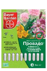 Инсектицидные палочки Провадо (Bayer Garden) 10 шт*2г — защита декор.растений от вредителей. Уценка! Просрочен
