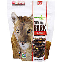 Endangered Species Chocolate, Chocolate Bark, Темный Шоколад с Миндалем и Арахисом, 4,7 унций (133 г)