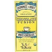 The Tea Room, Шоколадный напиток Chocolate Fusion с белым шоколадом, ромашкой и медом, 1.8 унций (51 г)