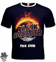 "Футболка-рингер Black Sabbath ""The End"""