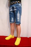 Летние джинсовые шорты и бриджи от 1 до 16 лет.