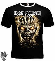 """Футболка-рингер Iron Maiden """"The Book Of Souls"""""""