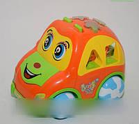 Интерактивная игрушка-сортер Baby Toy learn multi-car music learning