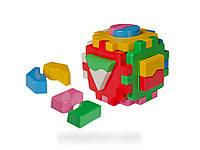 Развивающая игрушка Куб Умный малыш Логика 1 ТехноК 2452 IU