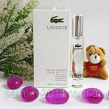 Мини парфюм Lacoste Eau De L.12.12 Blanc 20 ml (реплика)