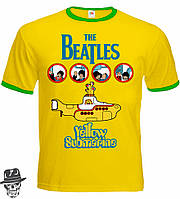 """Футболка-рингер The Beatles """"Yellow Submarine"""""""