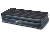 Высокая односпальная надувная кровать Intex 66721 (191X99X47 см) HN
