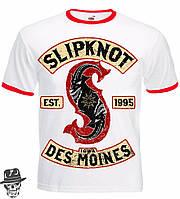 """Футболка-рингер Slipknot """"Iowa Des Moines"""""""