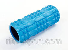 Ролик для йоги та фітнесу масажний L-33 см, d-13 см, фото 2