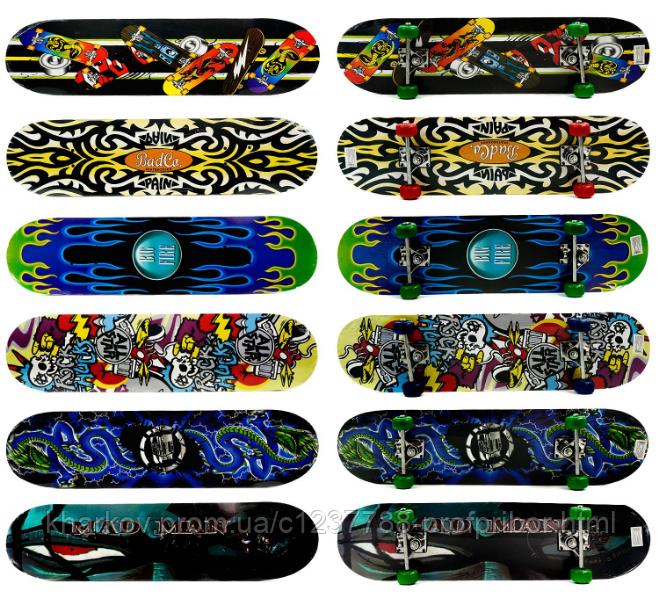 Скейт 3108 / 466-126, колесо PVC, d - 5см КК - Стандарт в Харькове