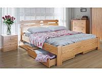 """Деревянные кровати с выдвижными ящиками """"Кантри"""""""