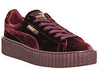 Женские кроссовки Puma Creepers x Fenty Rihanna Velvet 2e99ccb008deb