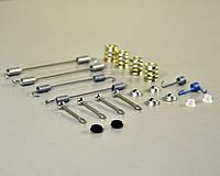 Комплект пружинок барабанных тормозных колодок на Renault Dokker  2012-> — RENAULT (Оригинал) - 7701205518
