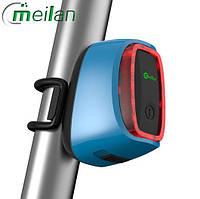 Велосипедний ліхтар Meilan X6 Smart задня фара габарит синій
