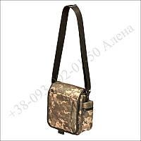 Тактическая сумка, городская барсетка для военных, армии пиксель
