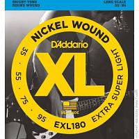Струны D'Addario EXL180