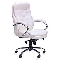 Кресло руководителя Валенсия HB кожзам белый (CS-618E PU WHITE)
