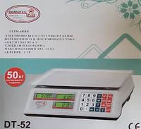 ТОРГОВЫЕ ВЕСЫ Domotec 52 (6 v) 50 kg