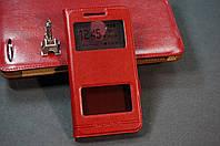 Чехол книжка для Lenovo Vibe C2 (K10a40) цвет красный