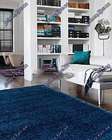 Высоковорсные ковры Шагги Самба, Бельгия, цвет синий