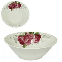 Салатник 20 см Розы SNT 30006-1487