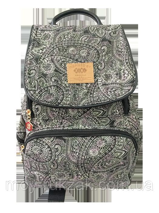 "Молодежный рюкзак ZIBI ""Compact DARK PAISLEY"" ZB16.0665DP арт. 525116"