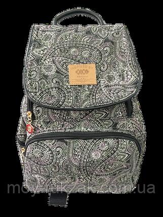 "Молодежный рюкзак ZIBI ""Compact DARK PAISLEY"" ZB16.0665DP арт. 525116, фото 2"
