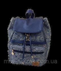 """Молодежный рюкзак ZIBI """"Baggy BLUE PAISLEY"""" ZB16.0672BP арт. 525123"""