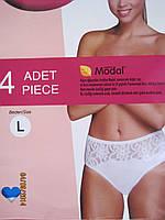Трусики женские 017 4 шт в упаковке