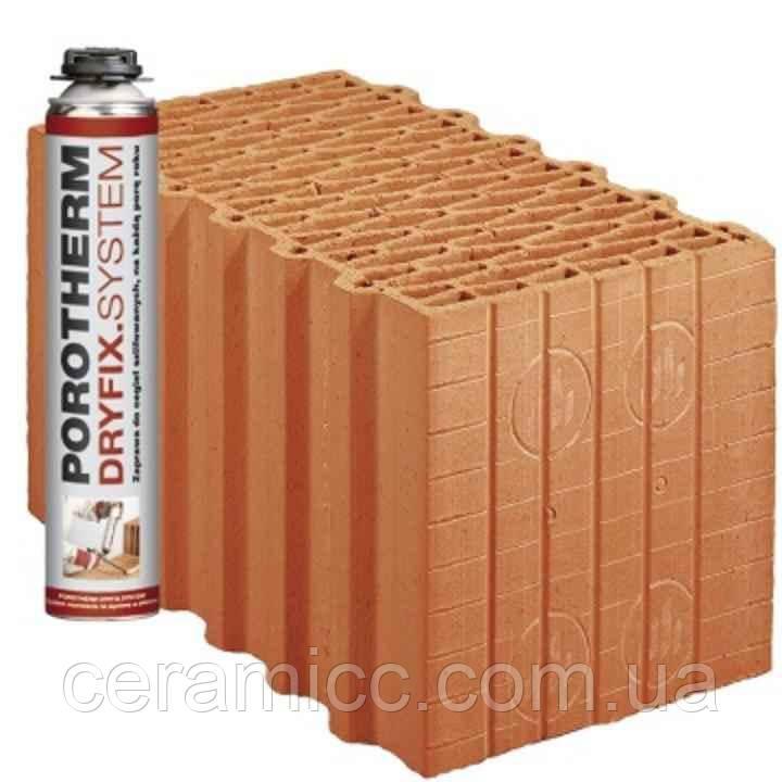 Керамический блок Porotherm 44 K Dryfix