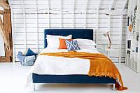 """Двоспальне ліжко """"Cloud"""" 160*200 з м'яким узголів'ям і гудзиками, фото 1"""
