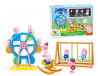 """Детский игровой набор Свинка Пеппа XZ-365 """"В парке развлечений"""""""
