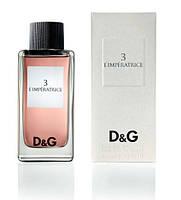 Женская туалетная вода D&G L`Imperatrice 3 (Ль'Императрис) Габбана духи, дольче габбана императрица