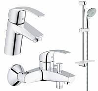 Набір змішувачів для ванни GROHE Eurosmart 123238